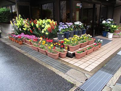 京都東山老年サナトリウム様 玄関前